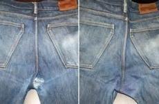 Don't despair, repair!  Save those jeans